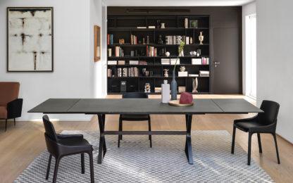 (1) fiam design glazen eettafel hype exetndable design by studio klass