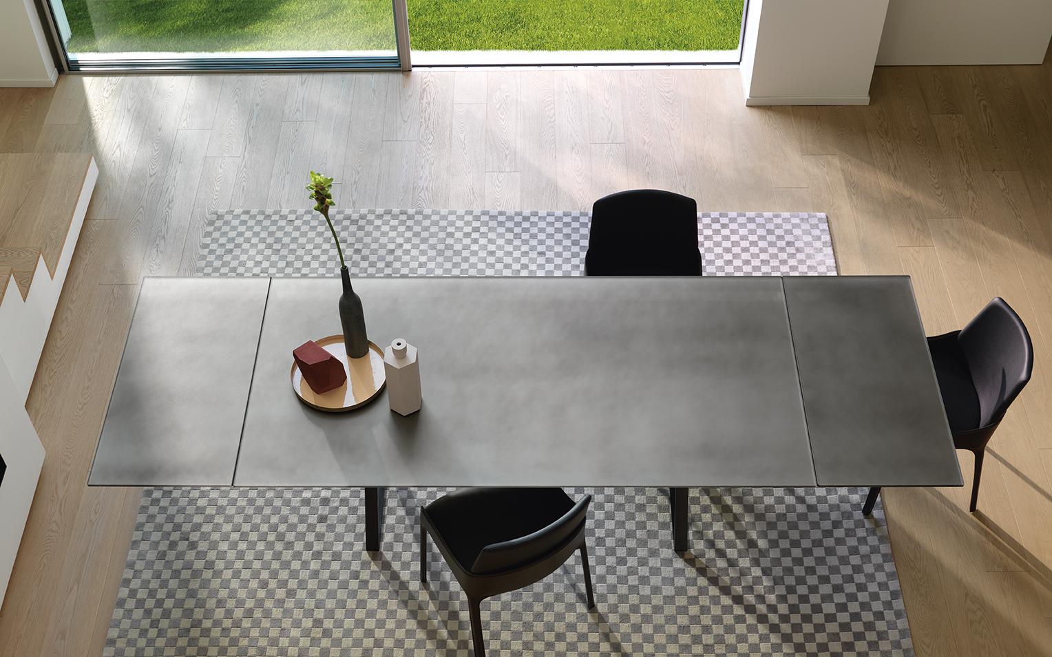 Moderne Eettafel Uitschuifbaar.Fiam Design Eettafel Hype Uitschuifbaar