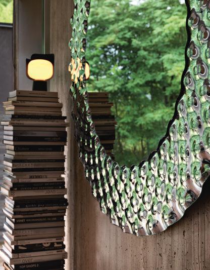 FIAM design spiegel Pop Ø148x5, Ø58x2 - design by Marcel Wanders